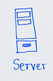 Server drawing